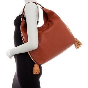 NWT Rebecca Minkoff Chase Large Leather Hobo Bag